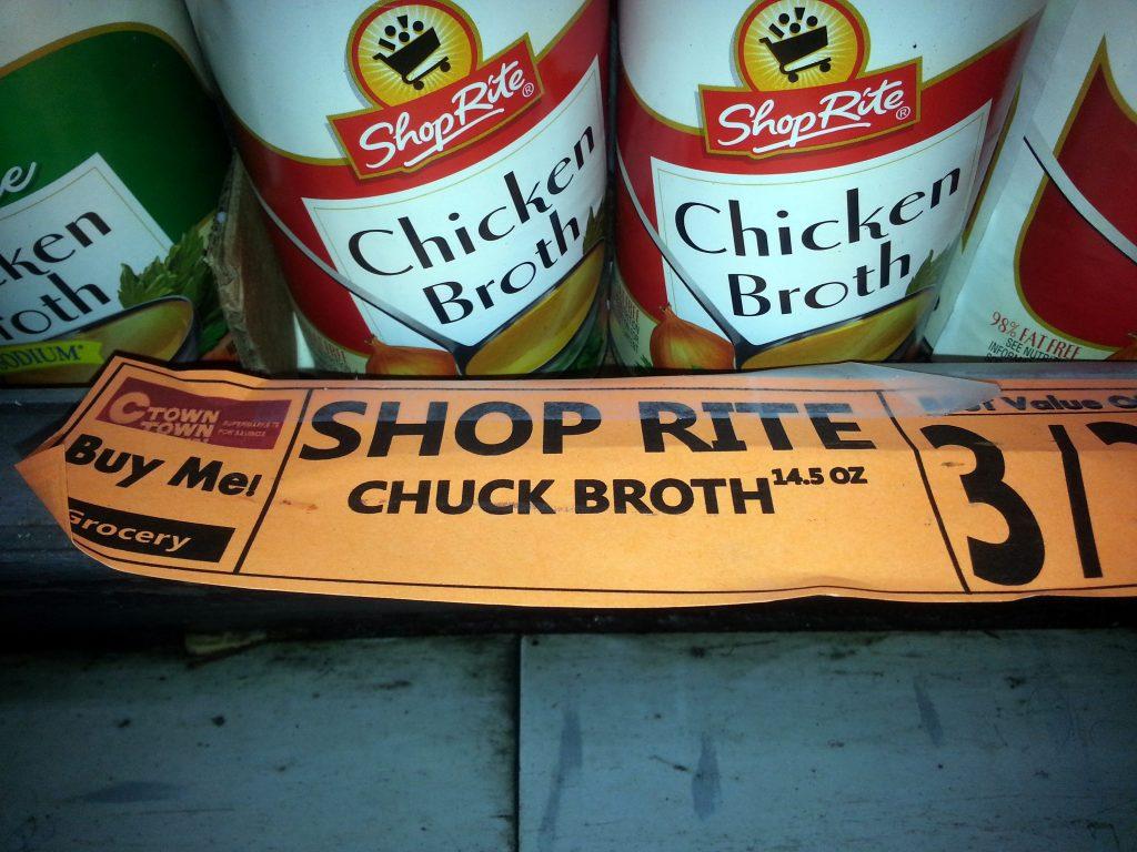 CHUCK BROTH