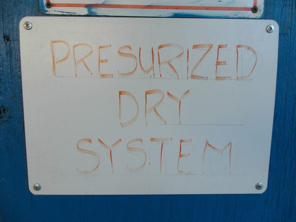 PRESURIZED DRY SYSTEM