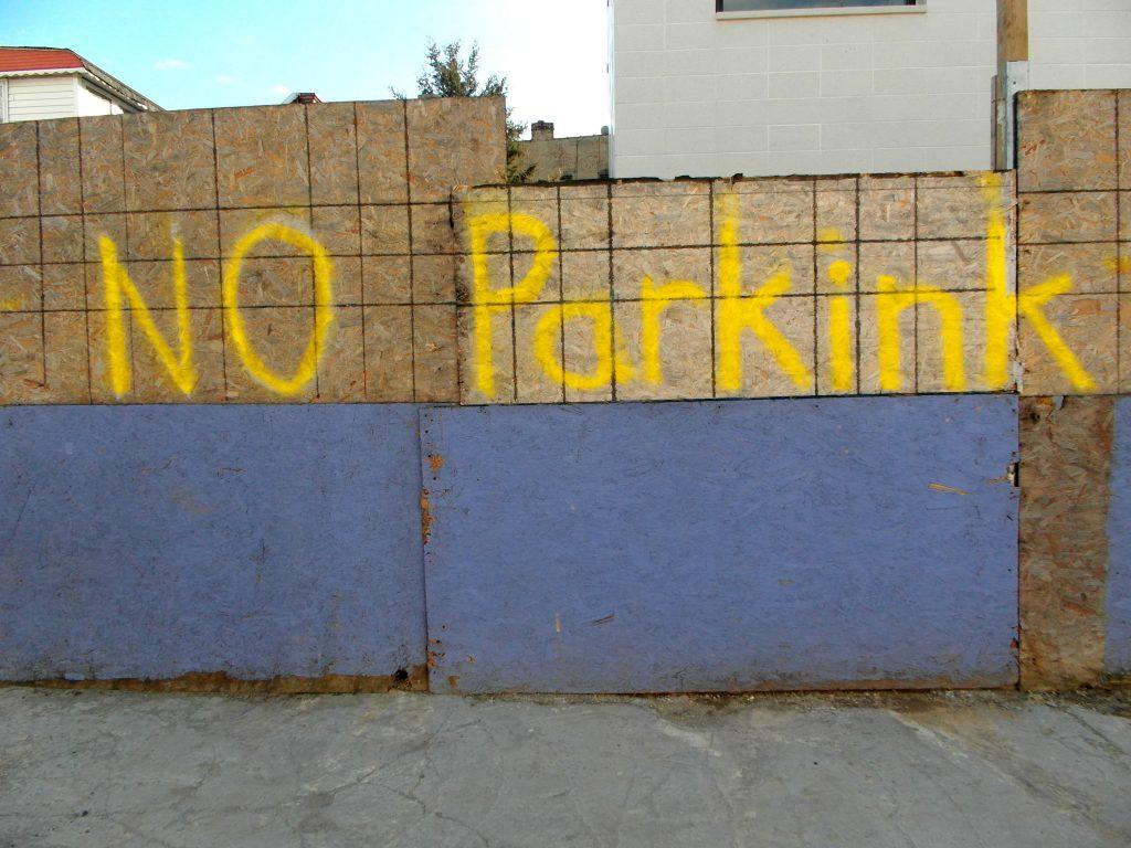 NO PARKINK