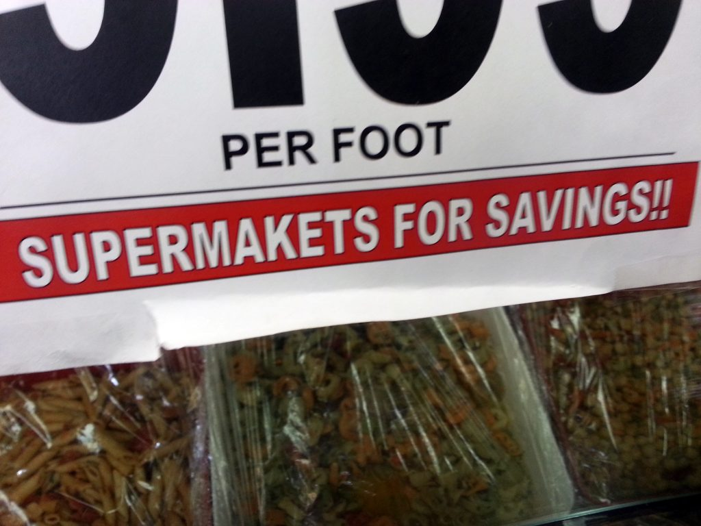 SUPERMAKETS FOR SAVINGS!!