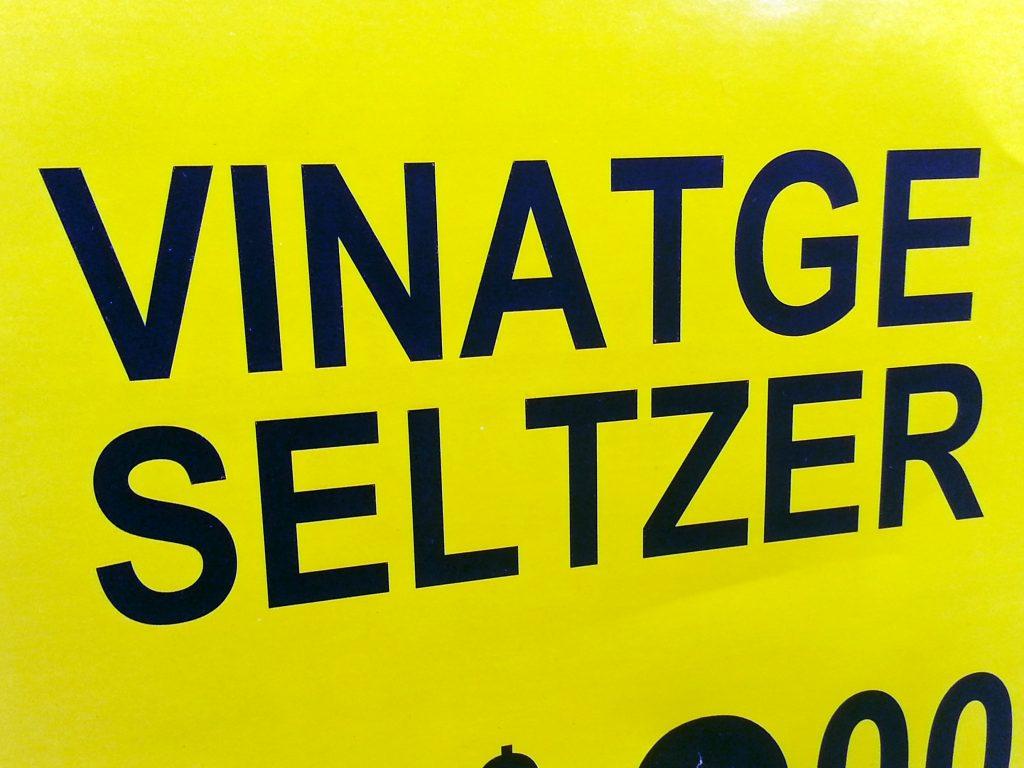 VINATGE SELTZER