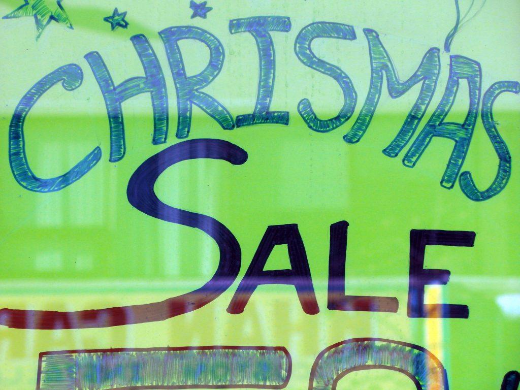 CHRISMAS SALE