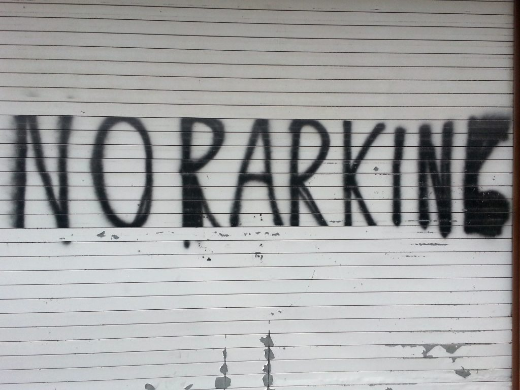 NO RARKING