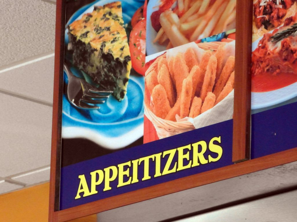 APPEITIZERS