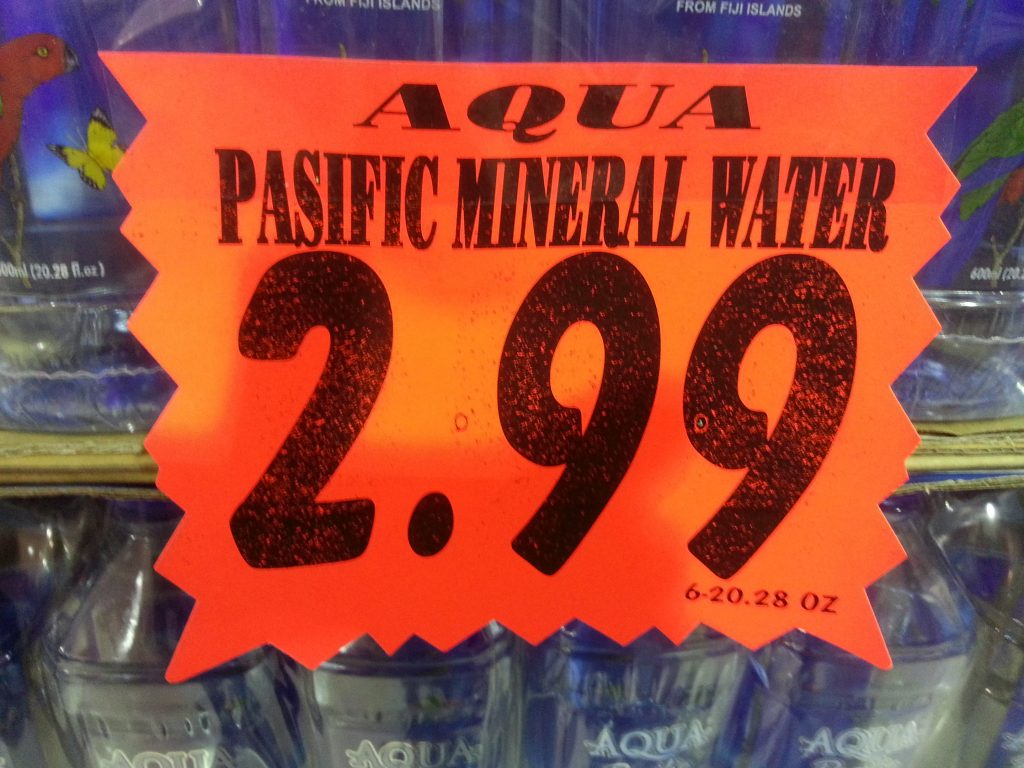 PASIFIC MINERAL WATER