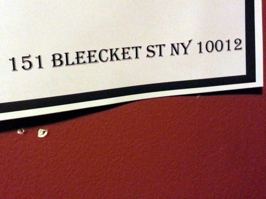 BLEECKET STREET