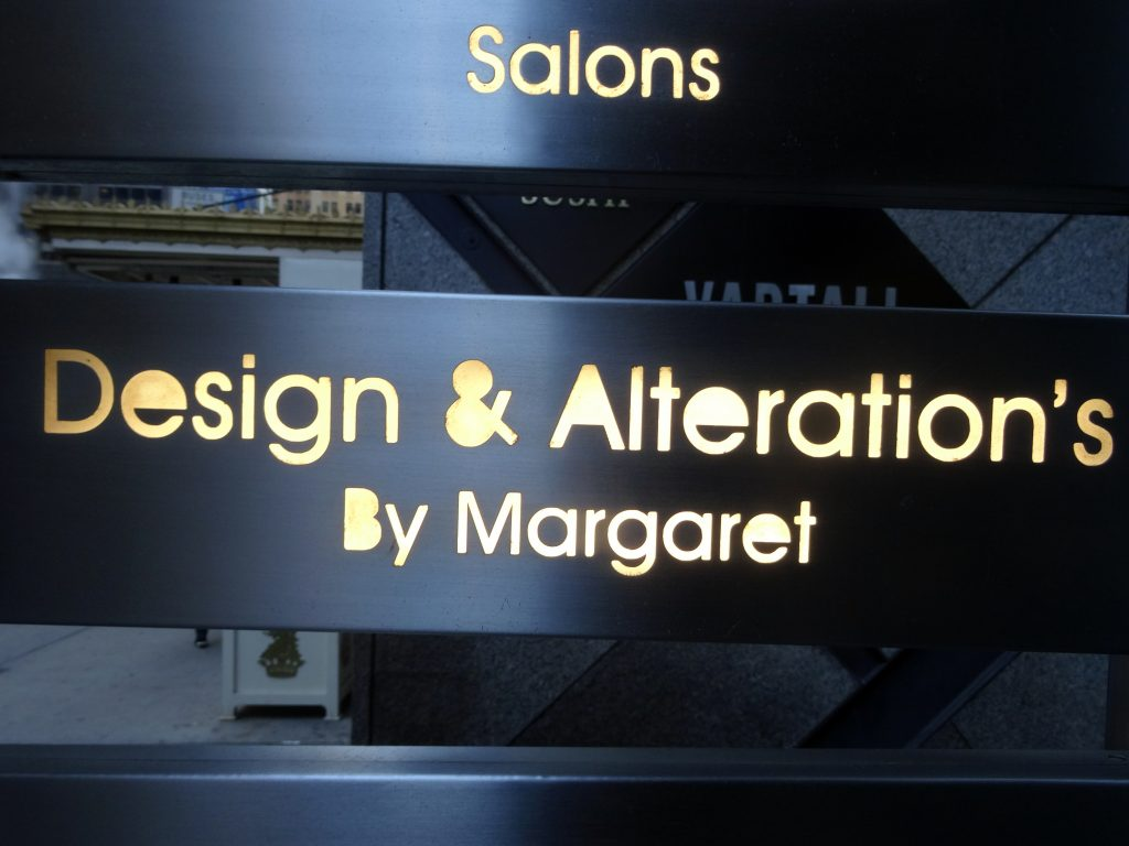 DESIGN & ALTERATION'S BY MARGARET