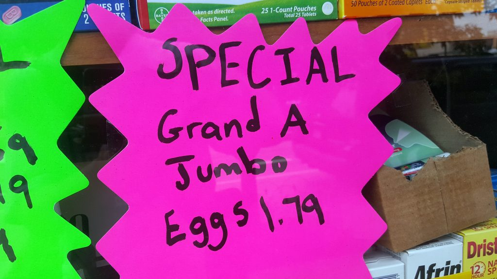 GRAND A JUMBO EGGS