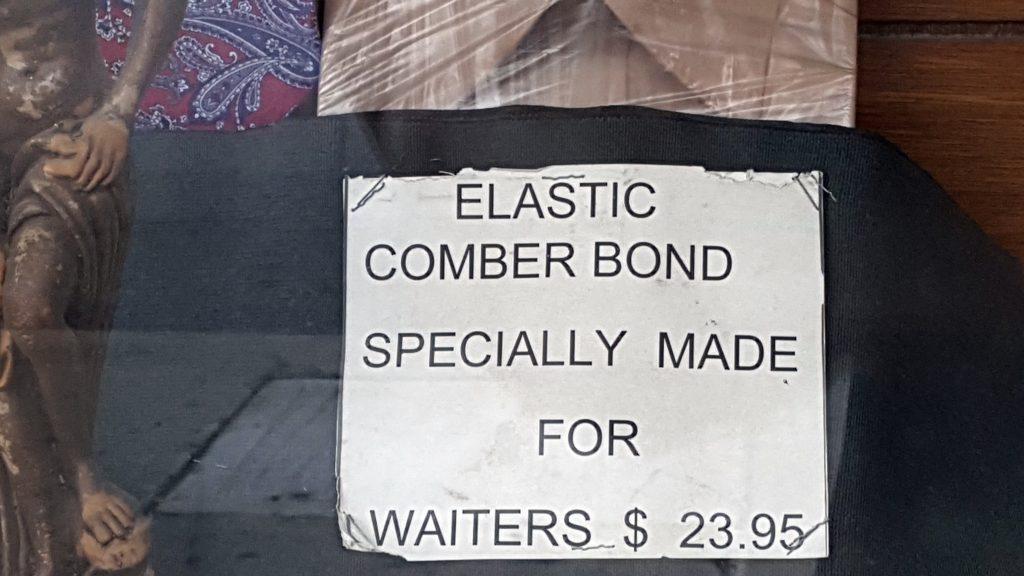 COMBER BOND