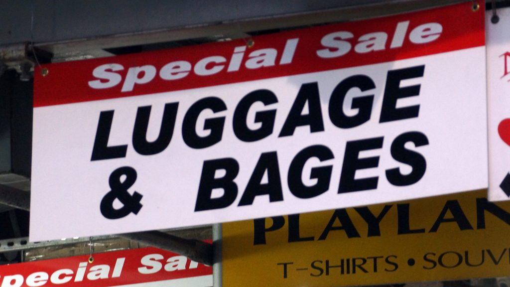 LUGGAGE & BAGES