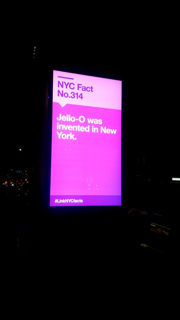 LinkNYC: Jello-O