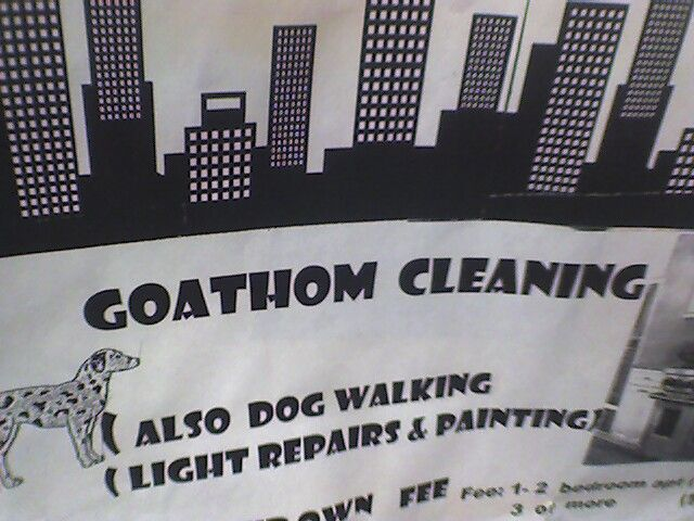 GOATHOM CLEANING