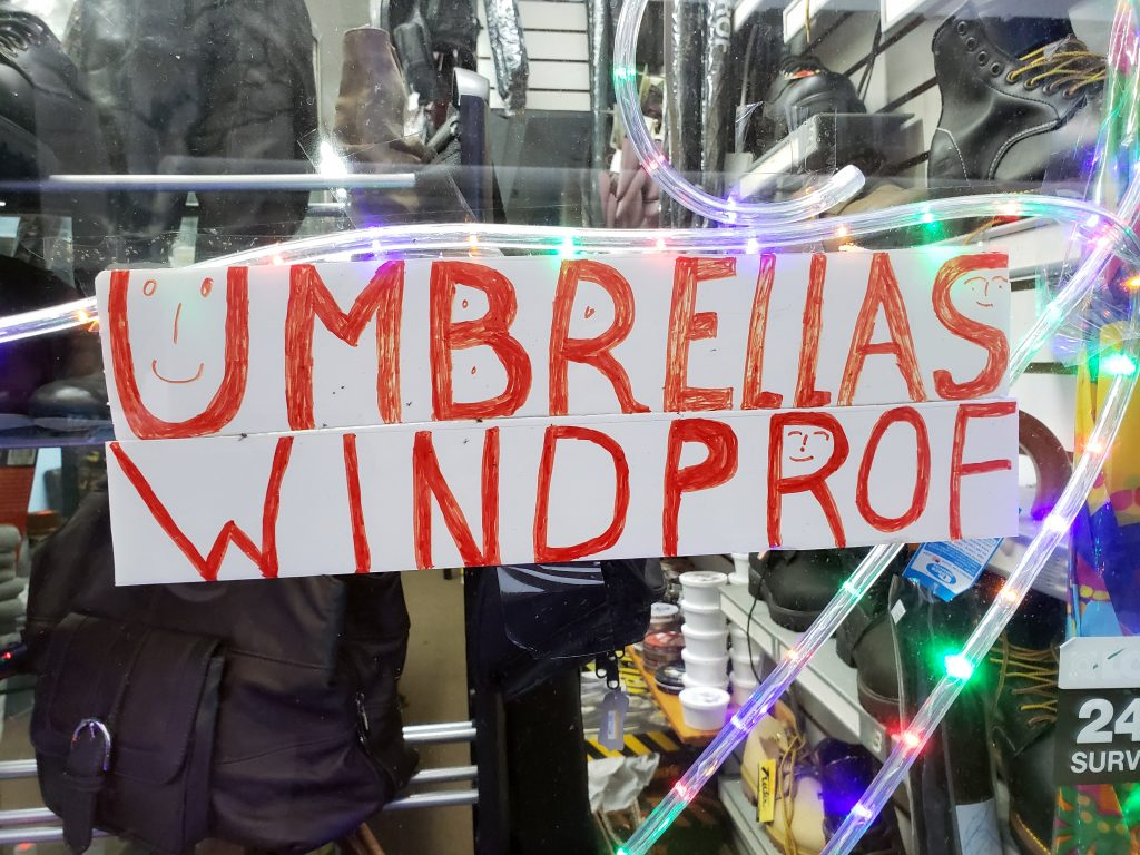 UMBRELLAS WINDPROF