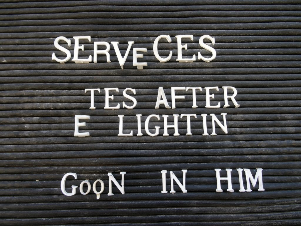 SERVECES TES AFTER E LIGHTIN GOON IN HIM