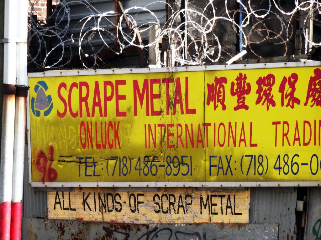 SCRAPE METAL