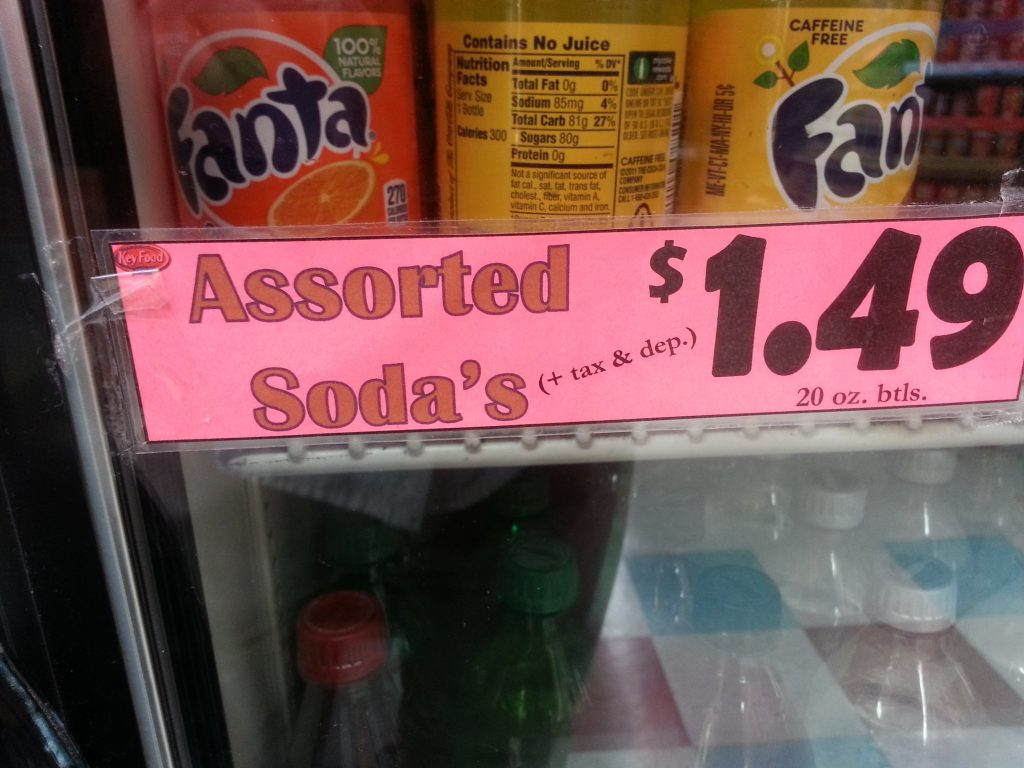 ASSORTED SODA'S